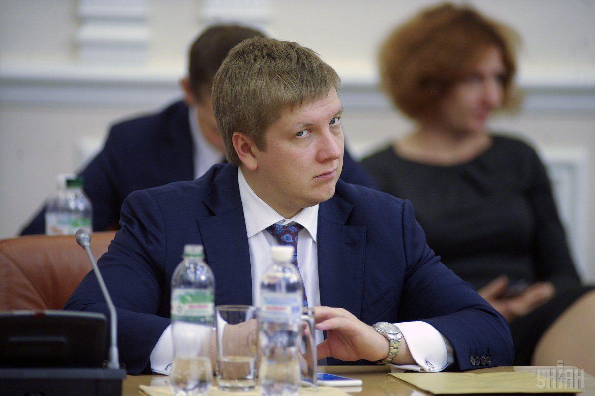 """Голова правління """"Нафтогазу"""" Коболєв за рік заробив понад 47 мільйонів гривень / Фото УНІАН"""