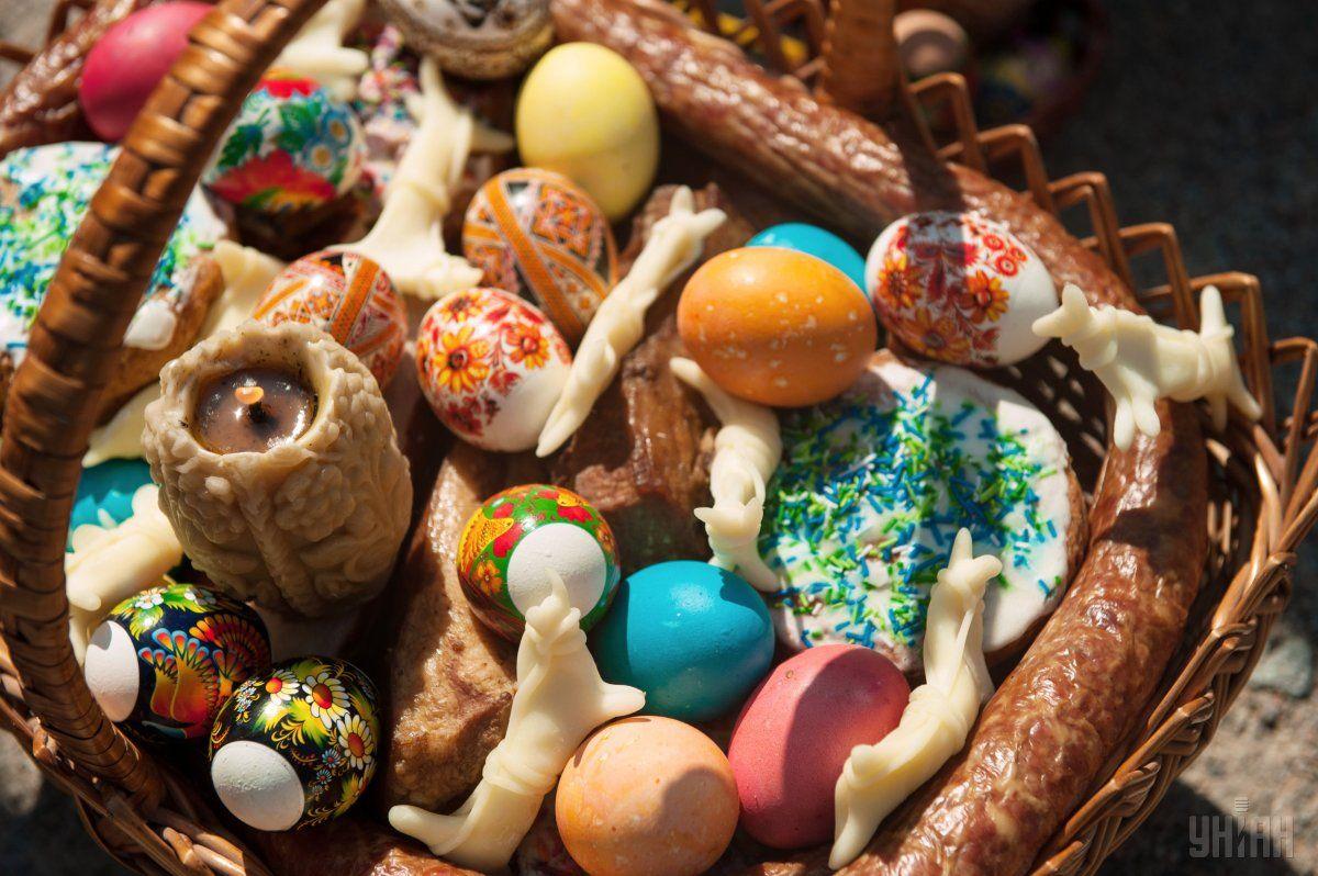 Традиционные продукты к Пасхе подорожают на 16,5% / фото УНИАН