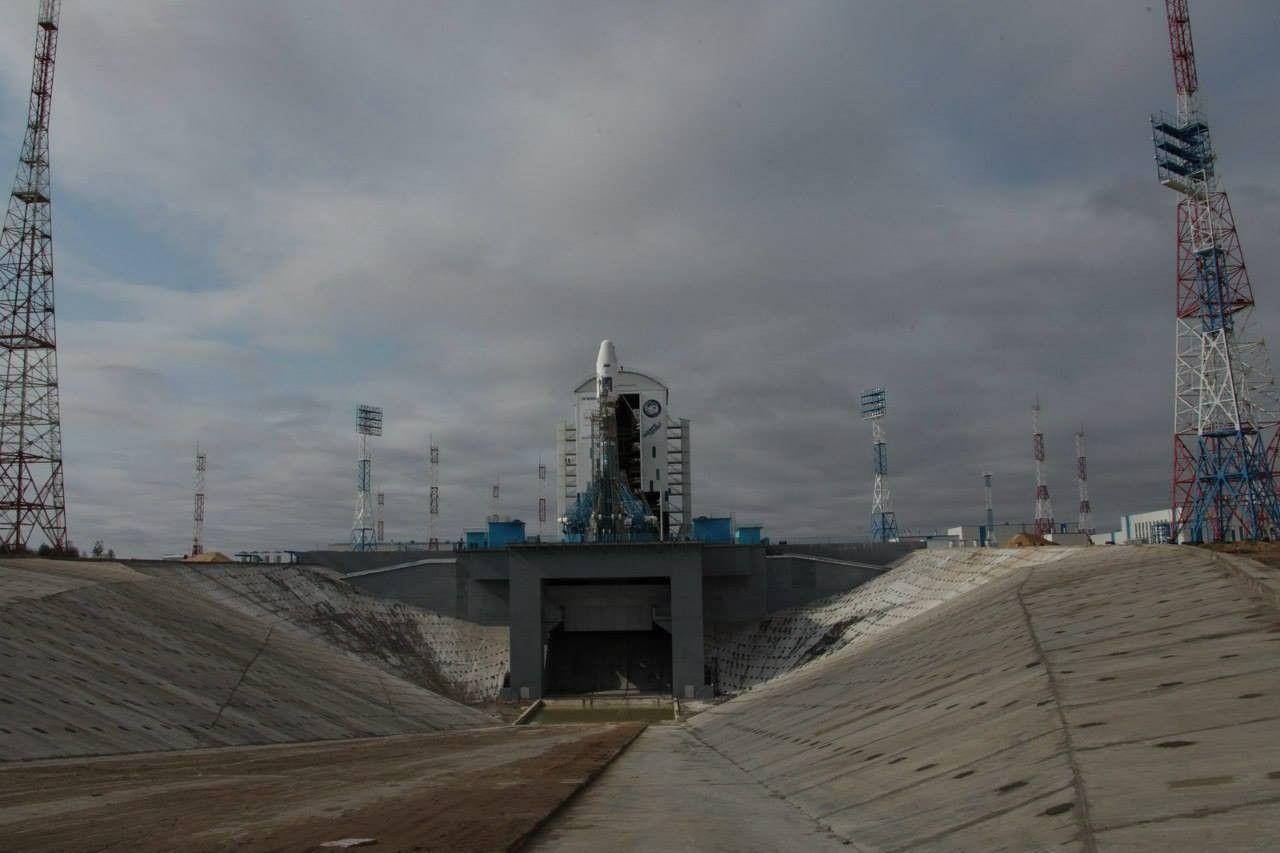 Роскосмос, Восточный / facebook.com/Roscosmos