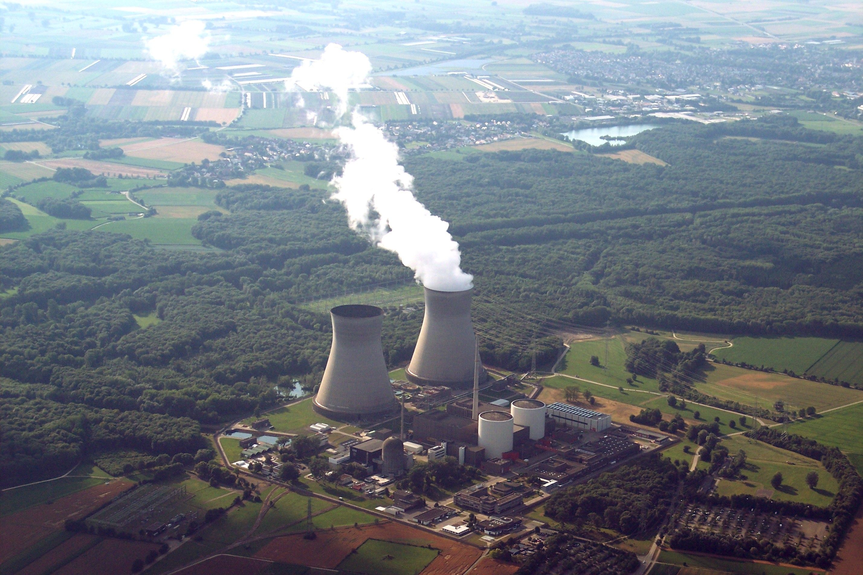 АЭС Гундремминген / Википедия