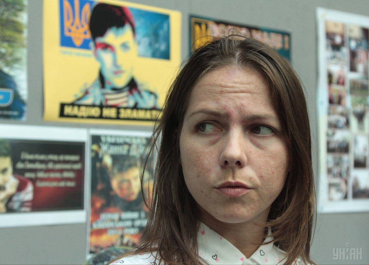 Вweb-сети размещено обращение Савченко кукраинцам изСИЗО