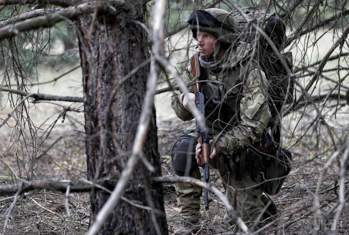 С начала суток потерь среди украинских военных на Донбассе нет / фото УНИАН