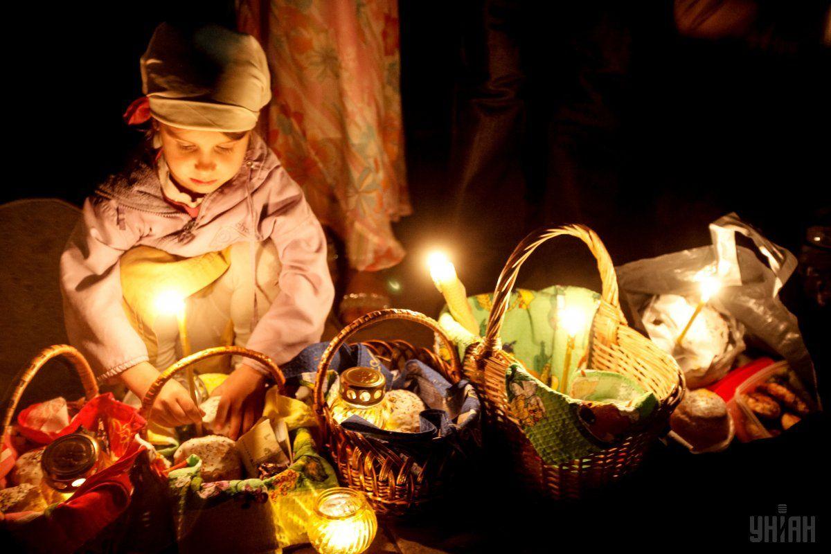 Украинцы отмечают Пасху / фото УНИАН
