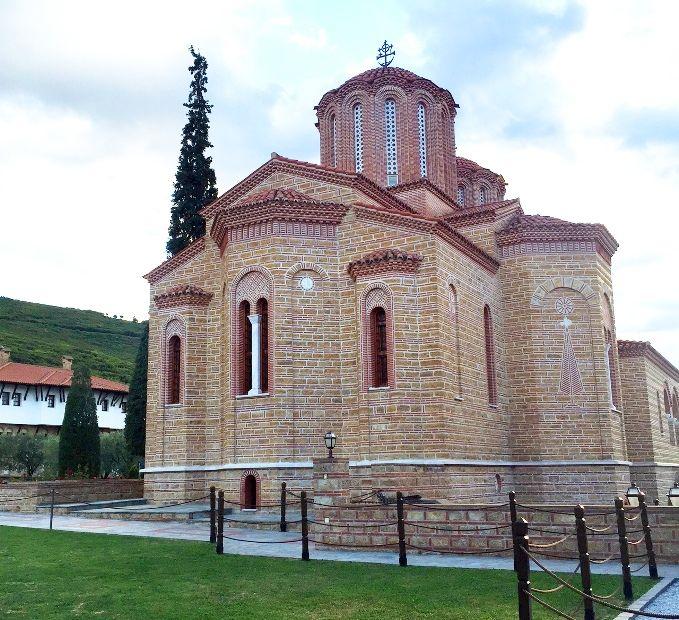 Главный храм монастыря Иоанна Богослова, Суроти, Греция