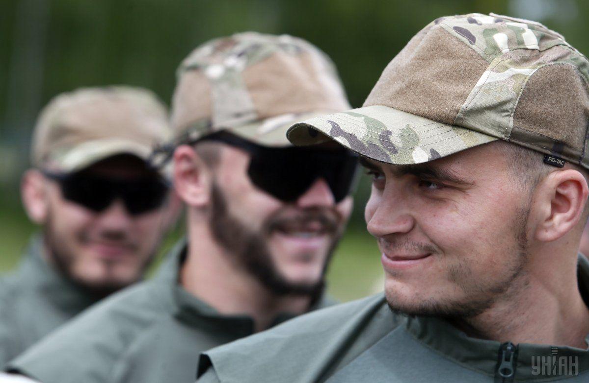 Бойцы спецподразделения КОРД / УНИАН