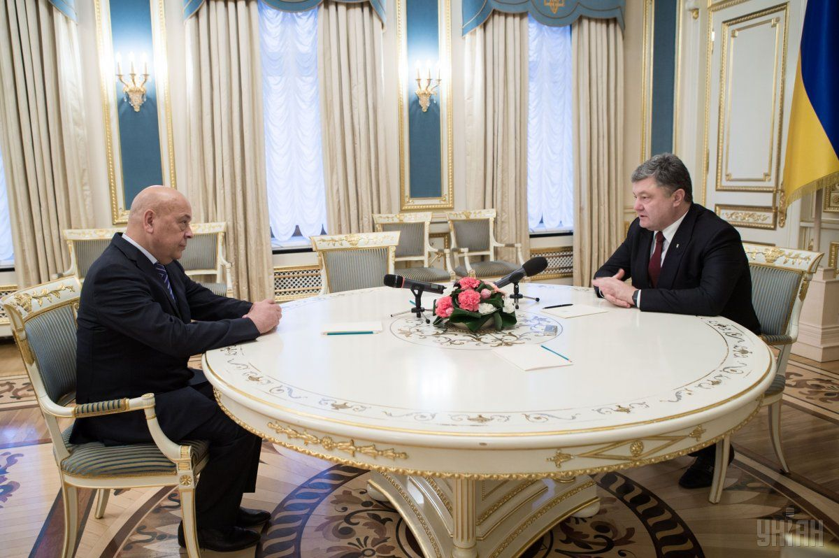 Poroshenko persuaded Moskal to remain in office / Photo from UNIAN