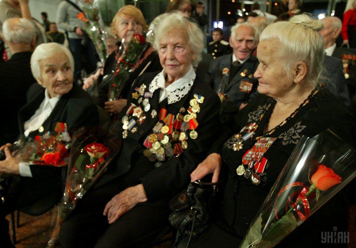 Уряд ухвалив рішення про здійснення одноразових виплат ветеранам війни / фото УНИАН