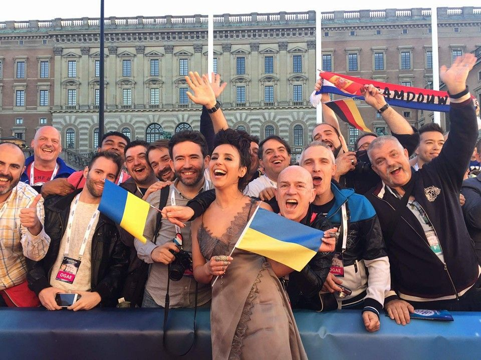 Jamala took part in the opening ceremony of Eurovision-2016 / Facebook Jamala