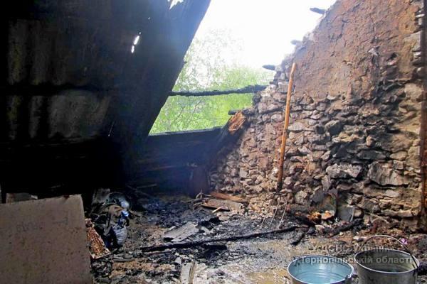 Пожежу ліквідував черговий караул пожежно-рятувальної частини