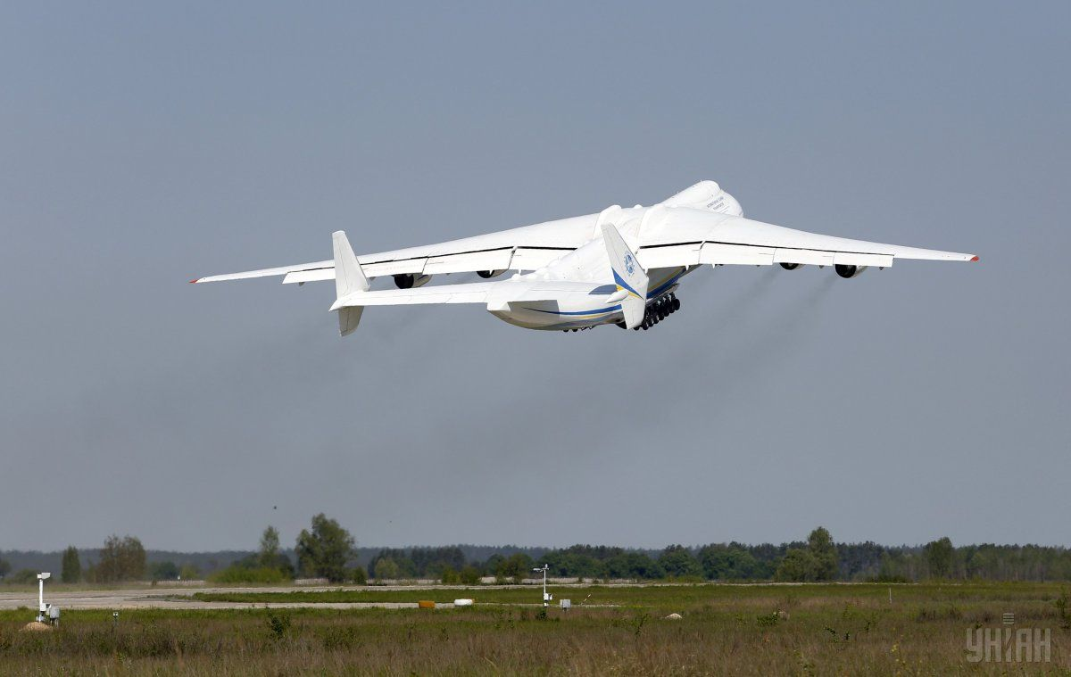 The An-225 Mriya's first flight was on 1 December 1988 – 28 years ago / Photo from UNIAN
