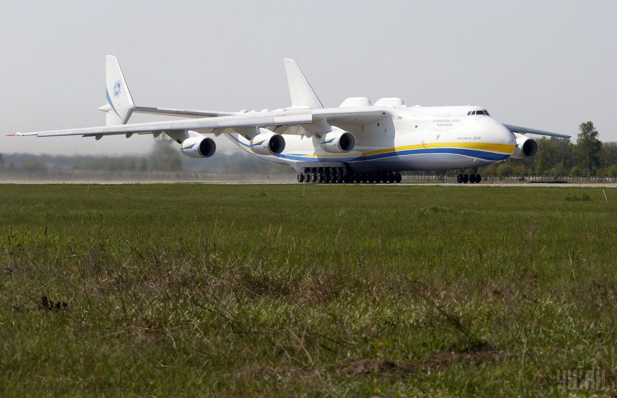 For the third week, our Mriya has been making top news around the world / Photo from UNIAN