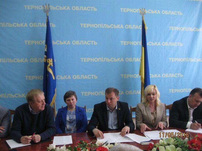 Фото прес-служби Тернопільської облдержадміністрації