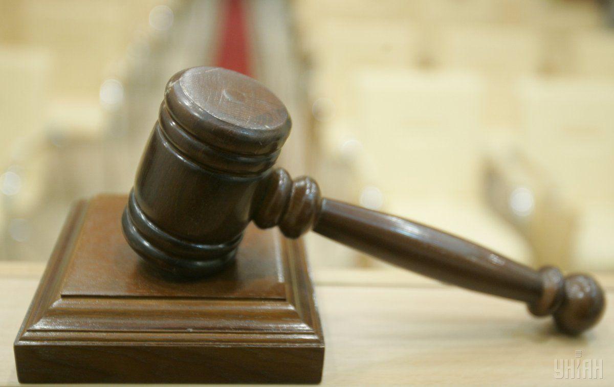 В зале суда Евграфов признал свою причастность к инциденту \ Фото УНИАН