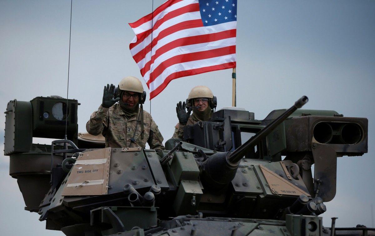 CША должны обеспечить присутствие в странах Балтии и Польше, отмечает Дон Бэкон/ REUTERS