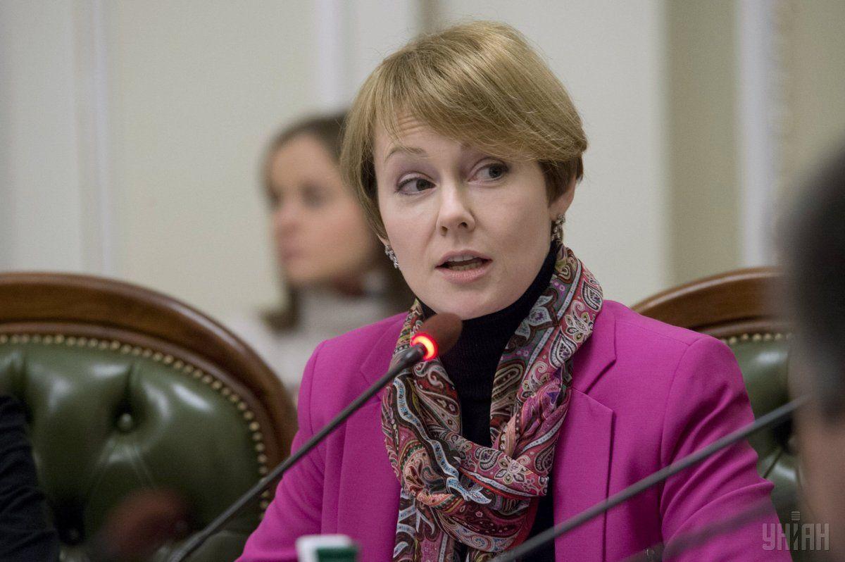 Елена Зеркаль заявила, что пока нет другого инструмента давления на РФ, кроме санкций / фото УНИАН