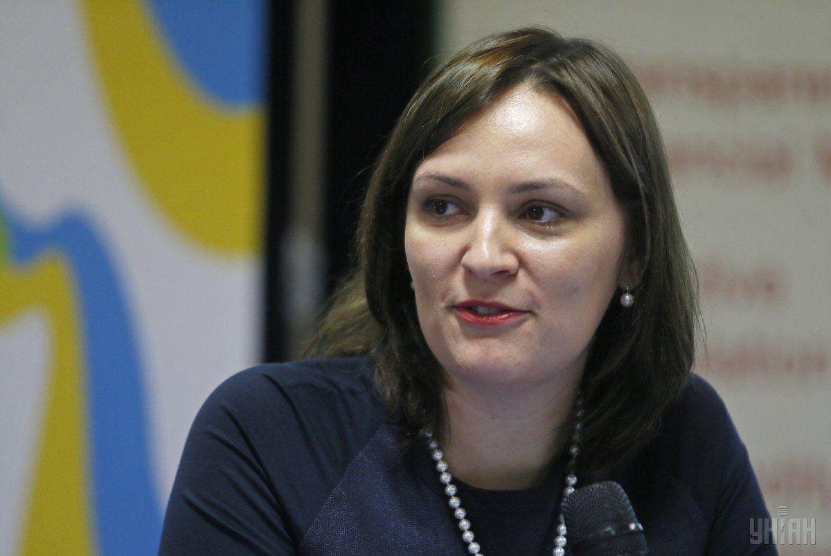 Ковалів написала заяву про припинення своїх повноважень / Фото УНИАН