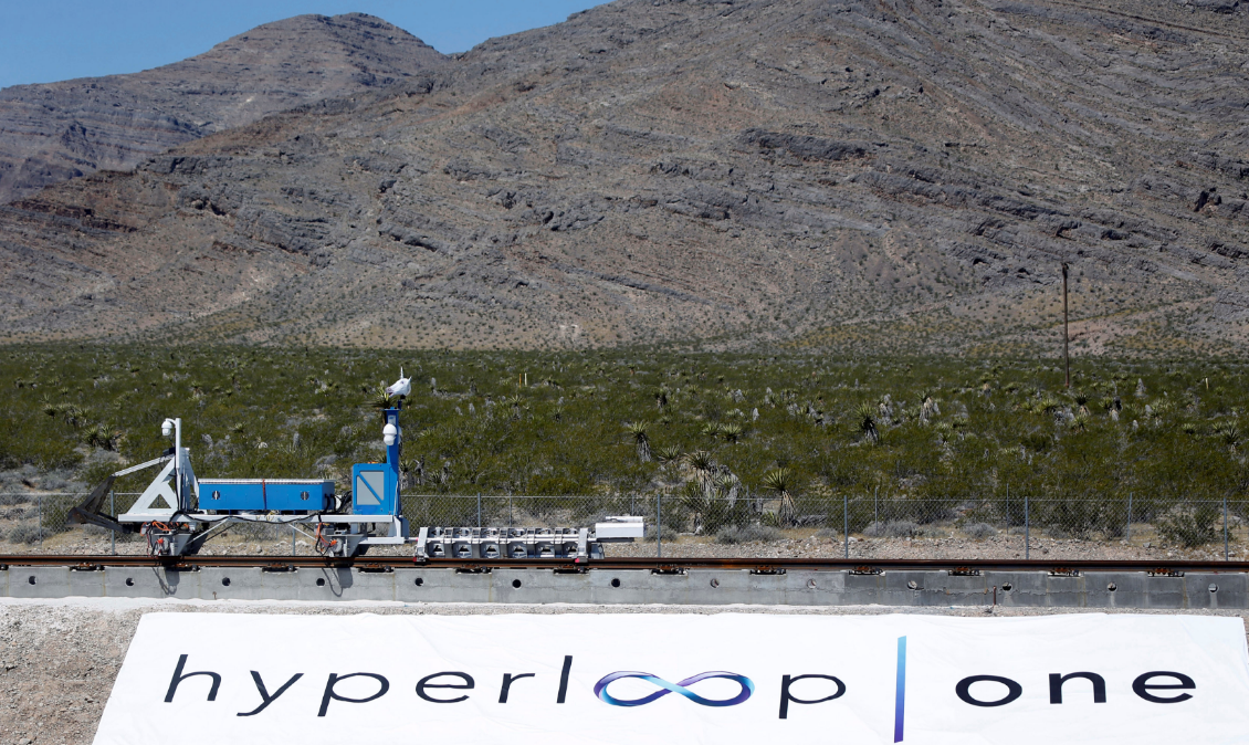 Південна Корея в 2018 році планує почати будівництво надшвидкого потяга Hyperloop