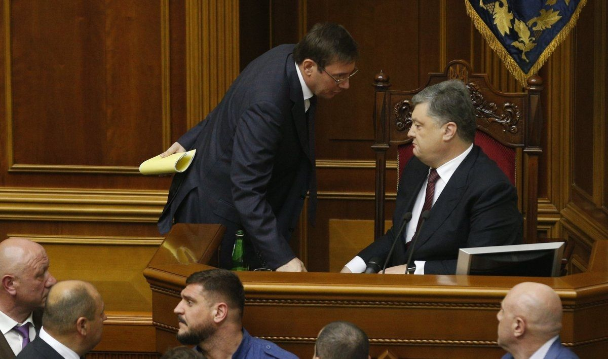 Луценко, здається, робить все, щоб вбити клин між Порошенком і Вашингтоном / УНІАН