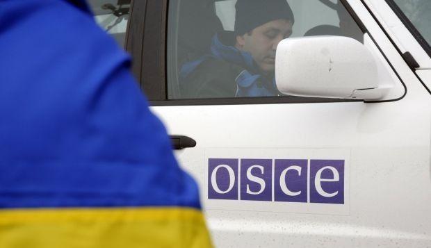ОБСЕ вынуждена была эвакуировать свою патрульную базу из Светлодарска / УНИАН