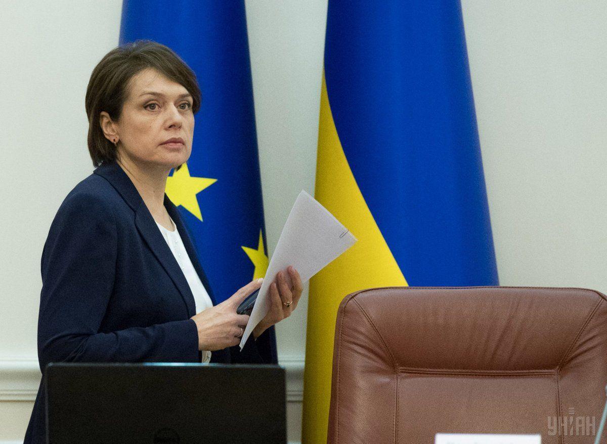 Вона підкреслила, що що практика, яку Міносвіти хоче запровадити новим українським законом про освіту, цілком відповідає сучасній європейській практиці / Фото УНІАН