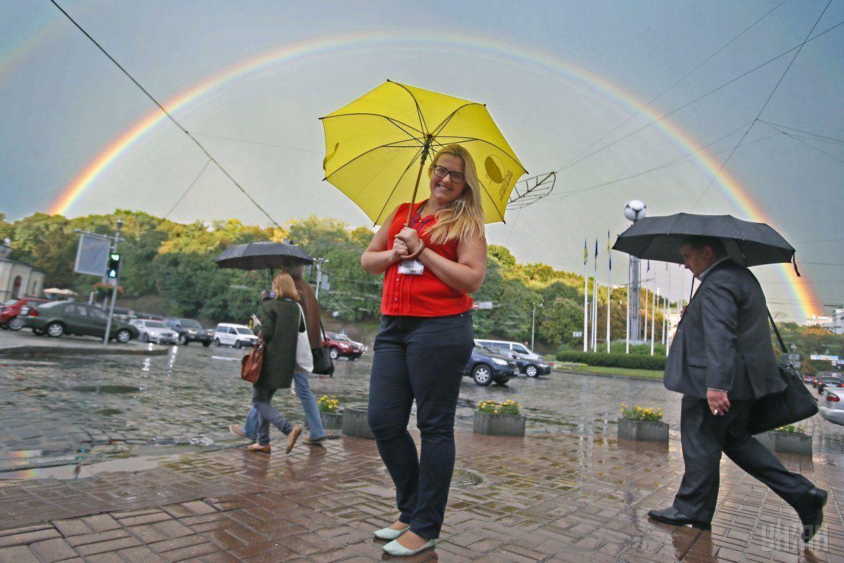 дождь, Киев, погода / Фото УНИАН