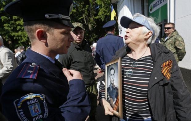 """Акцію """"Безсмертний полк"""" пов'язують з російською пропагандою / УНІАН"""