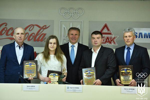 Деха вперше стала кращою спортсменкою місяця / noc-ukr.org