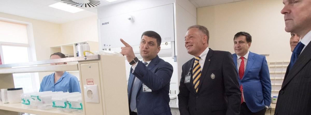 Володимир Гройсман на підприємстві
