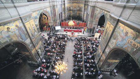 Фото со страницы Священной митрополии Абхазии в социальной сети Facebook