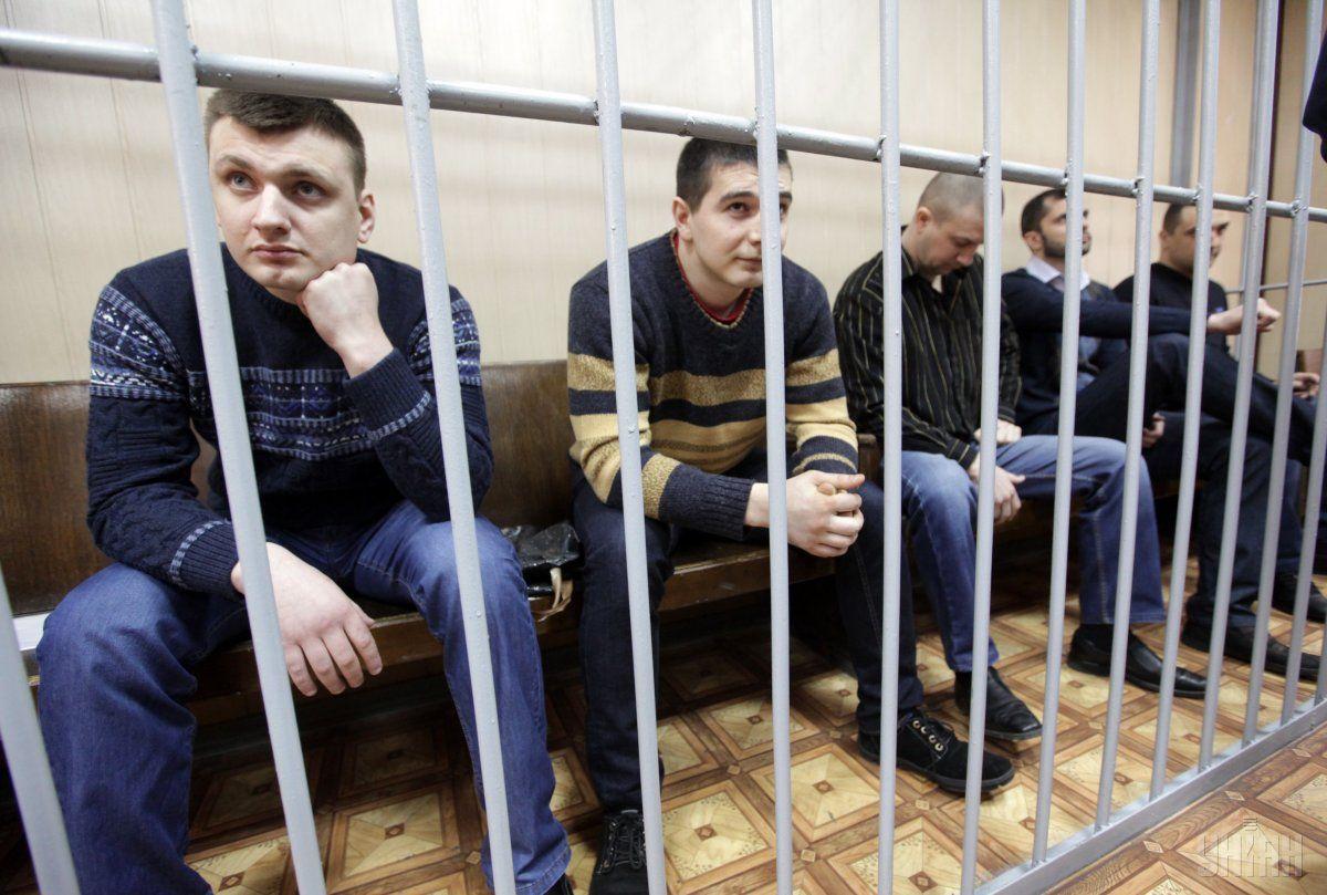 """Суд отпустил одного из экс-""""беркутовца"""" под домашний арест/ фото: УНИАН"""