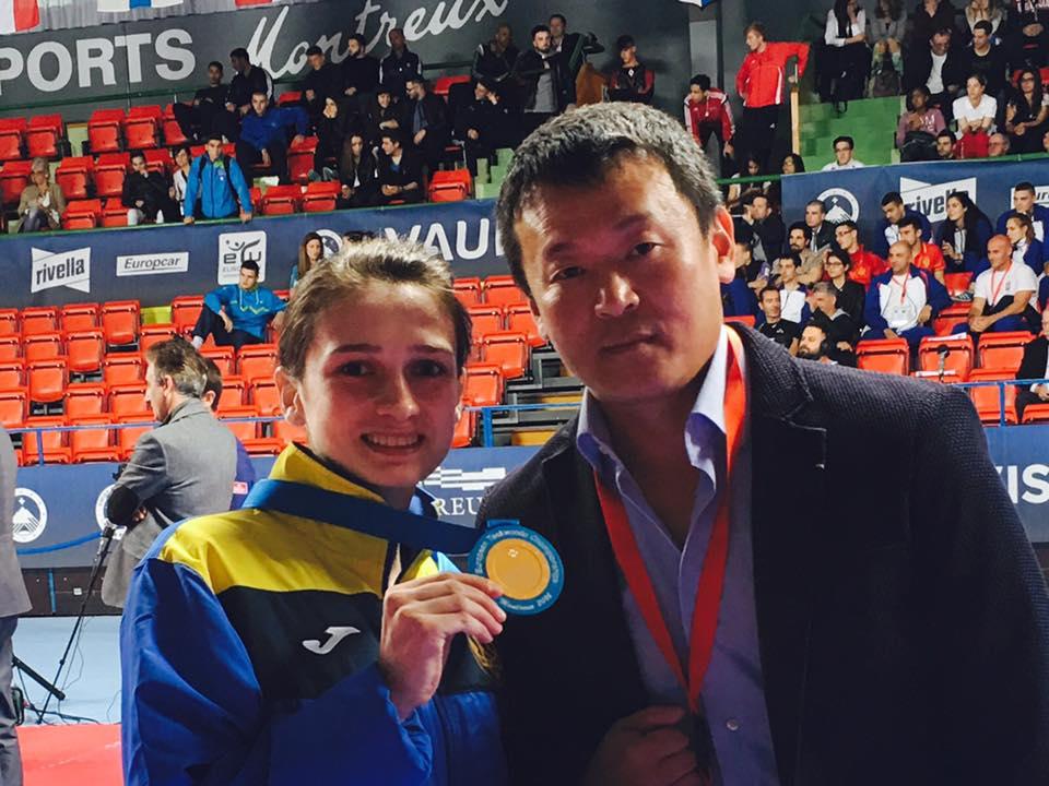 Ромолданова впервые стала чемпионкой Европы / ftu.in.ua