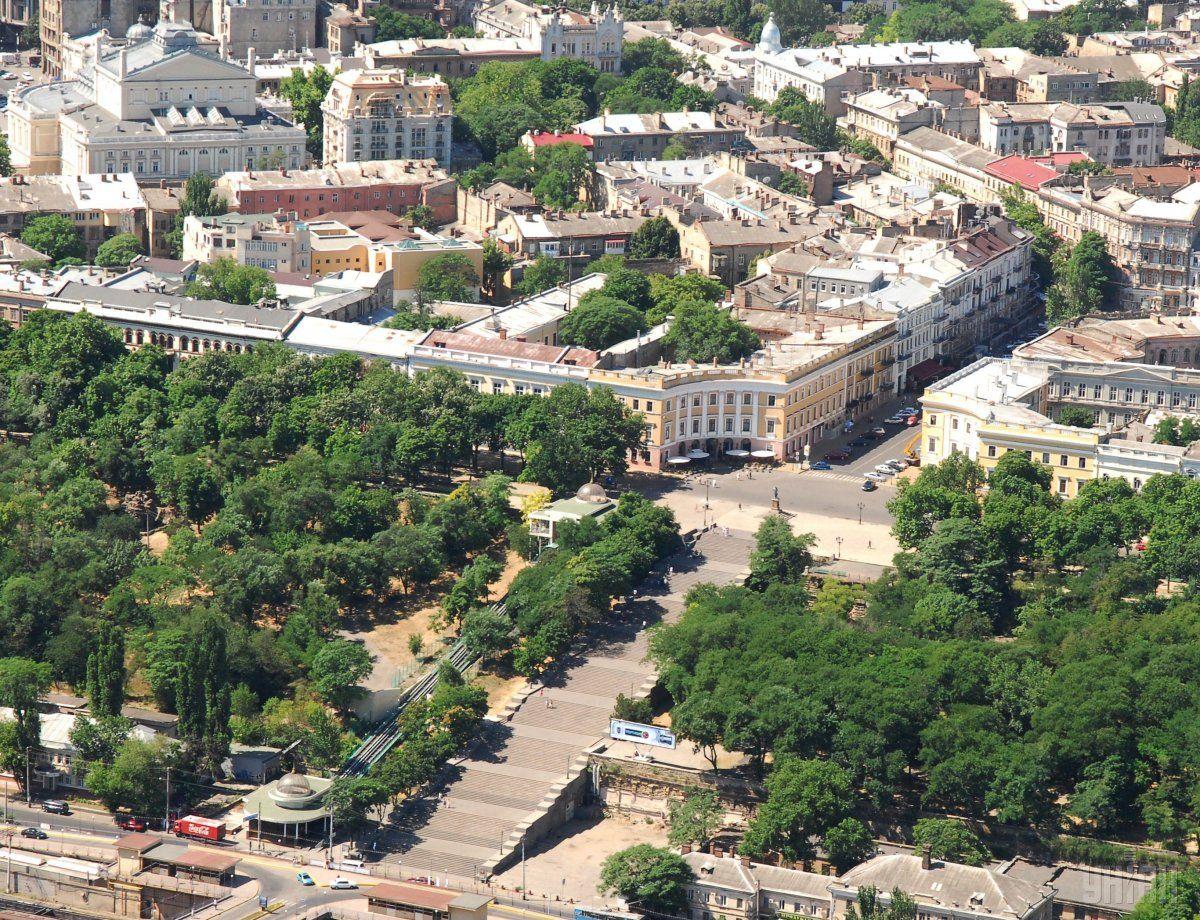 В Одесі хочуть сворити сквер Героїв Небесної Сотні / Фото УНІАН
