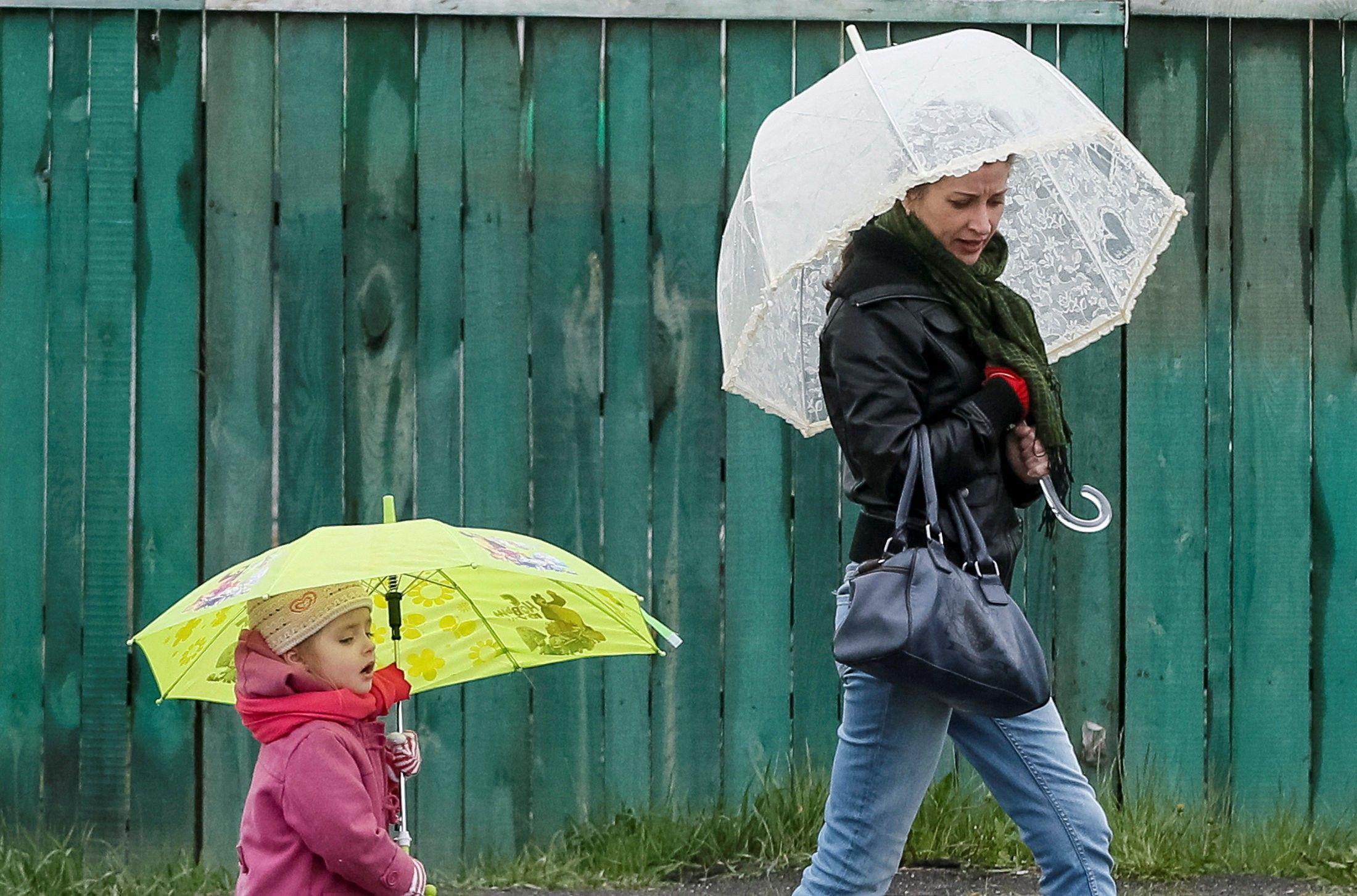 В октябре в Украине ожидаются сильные дожди / фото REUTERS