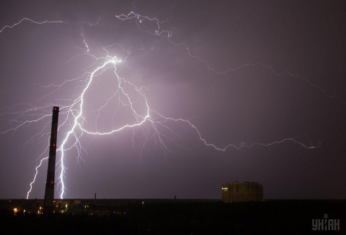 В Україні оголосили штормове попередження / фото УНІАН