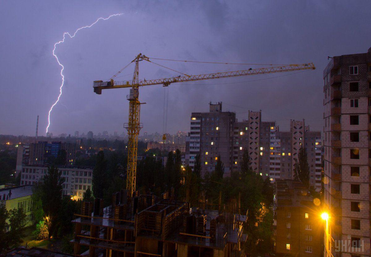 Сьогодні в Україні очікуються дощі з грозами / фото УНІАН