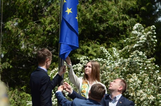 У Тернополі відбулися урочистості з нагоди Дня Європи в Україні