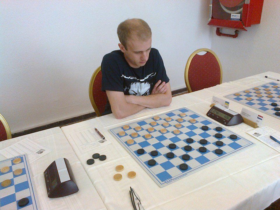 Юрий Аникеев выступил в суперфинале Чемпионата мира по шашкам вместе с Артемом Ивановым / salou-open.nl