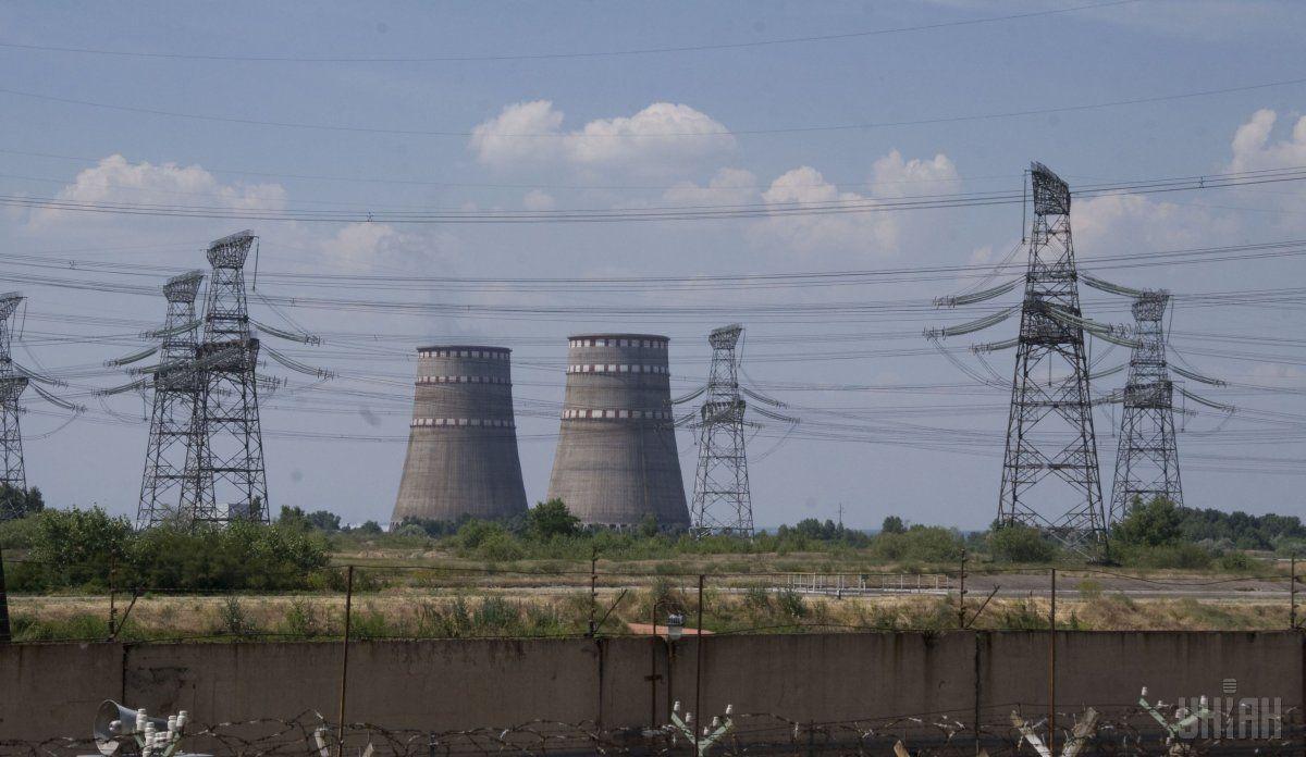 Запорожская АЭС отключила от сети второй энергоблок / фото УНИАН