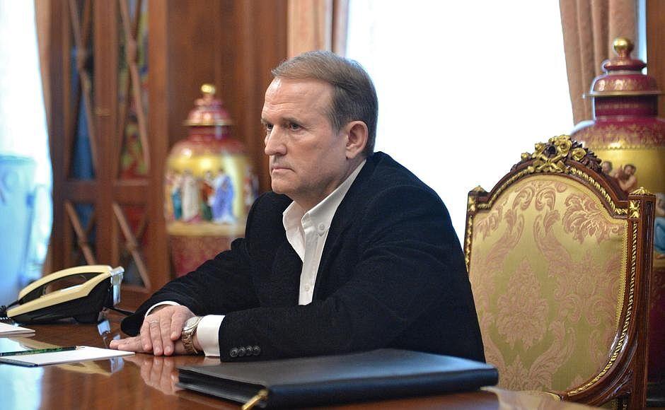 Медведчука собираются внести в санкционный список США / фото kremlin.ru