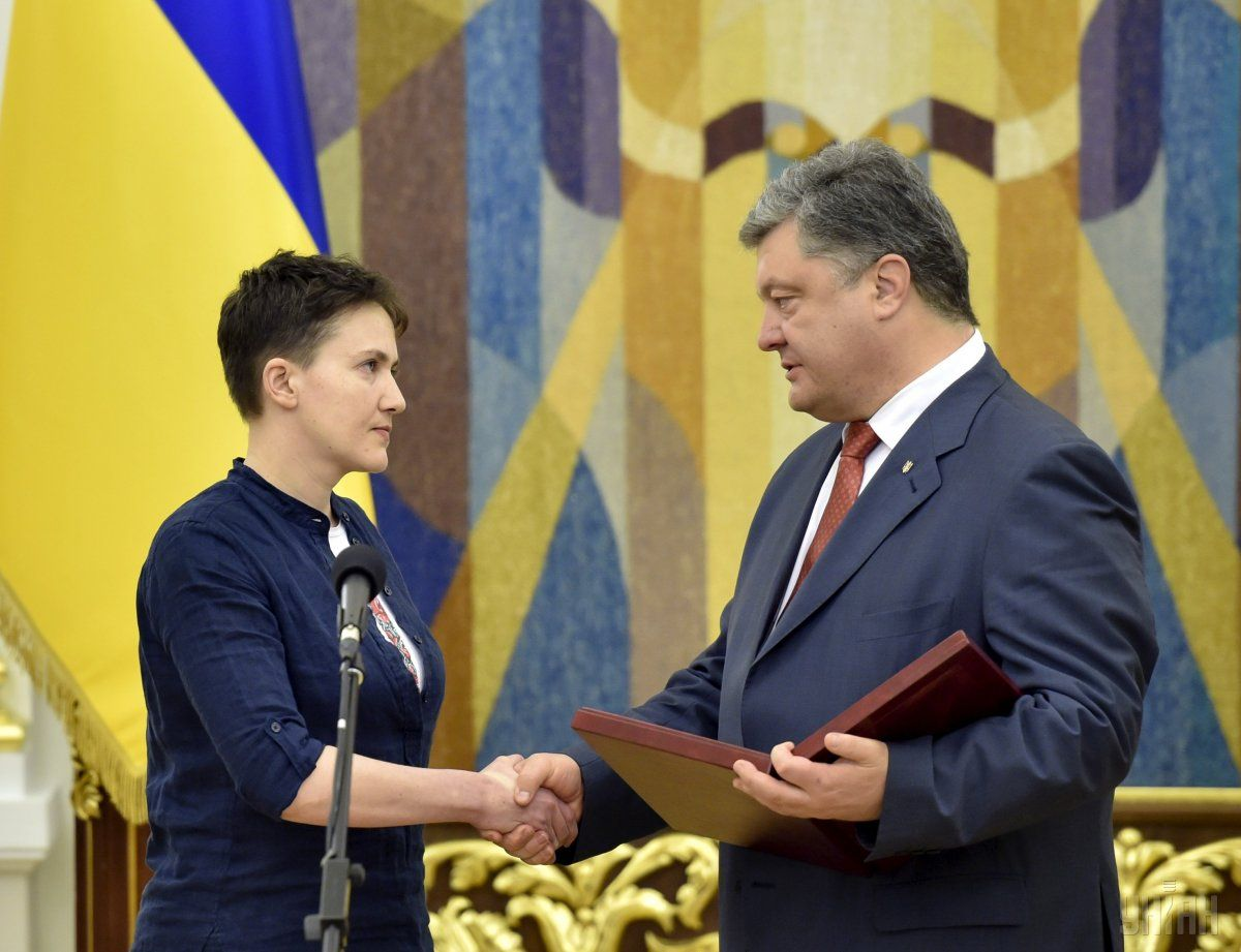 Savchenko has not filed petitions for pardon / Photo from UNIAN
