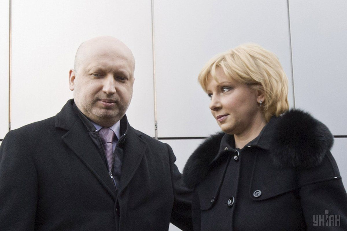Turchynov's wife Hanna has been attacked by a terrorist / Photo from UNIAN
