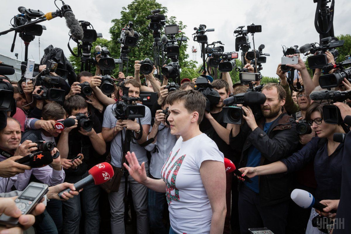 Savchenko returned to Ukraine May 25 / Photo from UNIAN