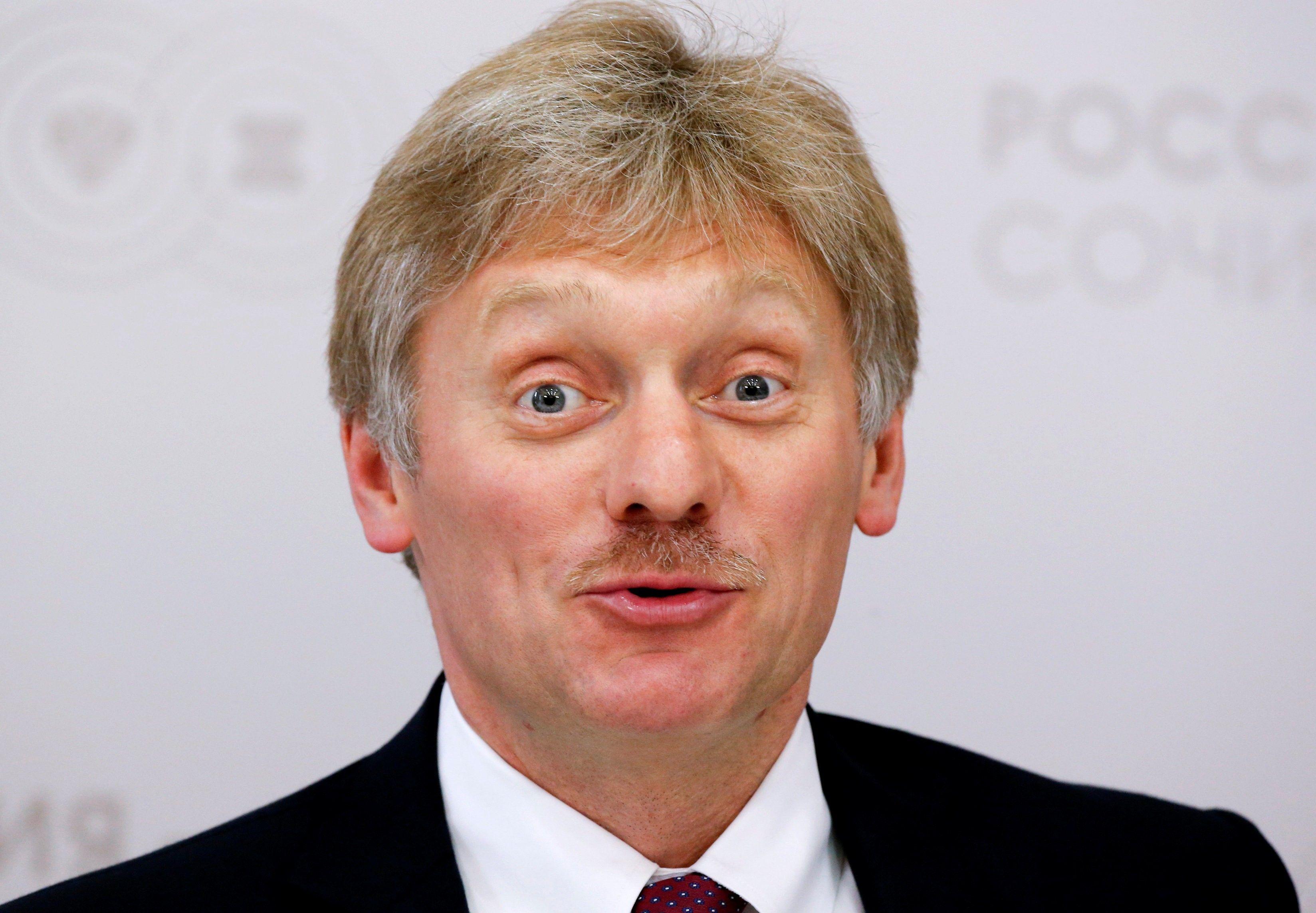 Песков рассказал о планах России по слиянию с Беларусью / фото REUTERS