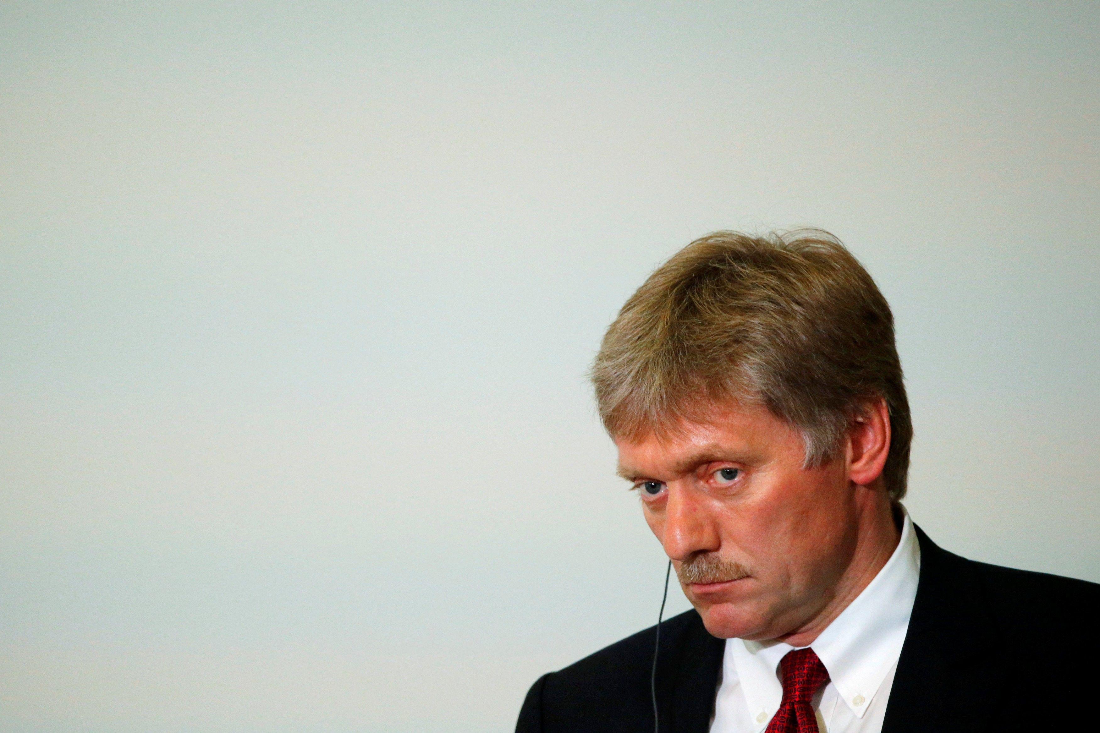 Пресс-секретарь президента РФ Дмитрий Песков / REUTERS