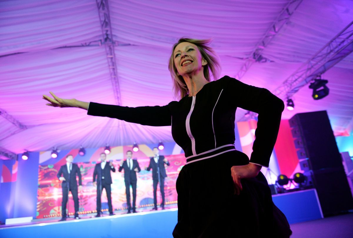 Марія Захарова / REUTERS