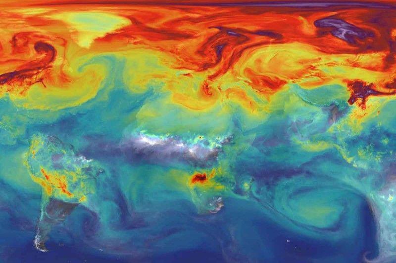 Изменение климата может произойти еще до конца 21 века / фото NASA/GSFC