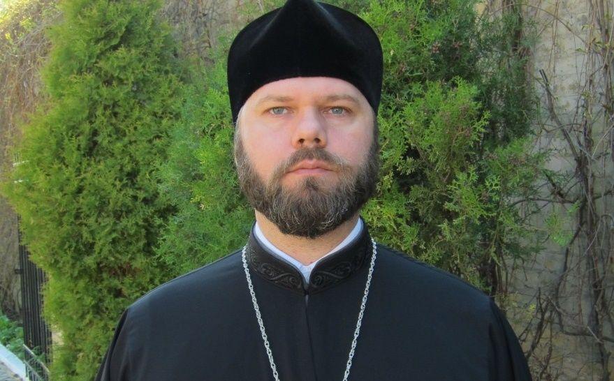 глава юридического отдела Украинской Православной Церкви протоиерей Александр Бахов,