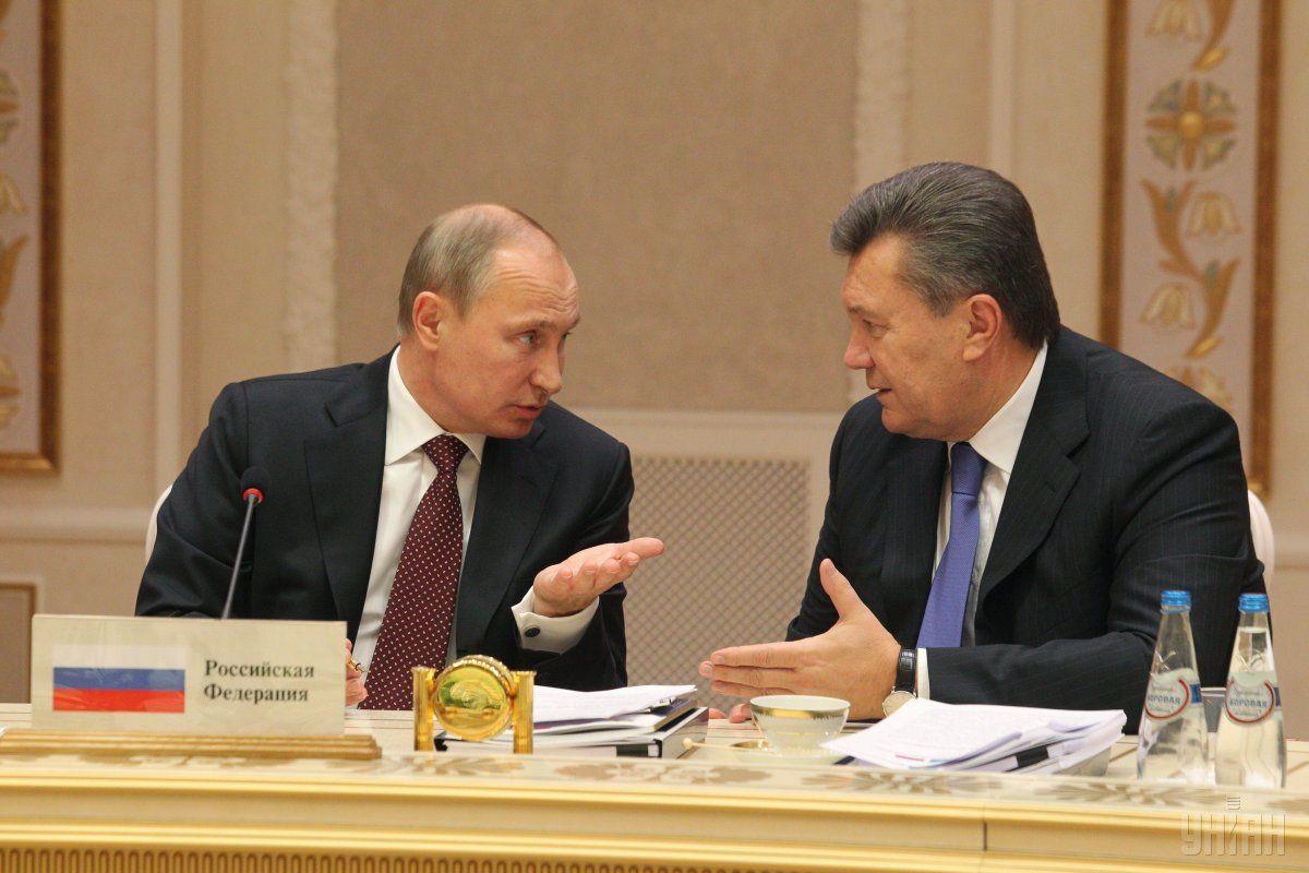 Владимир Путин и Виктор Янукович / фото УНИАН