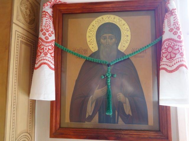 храмовые иконы прп. Феодора Освященного