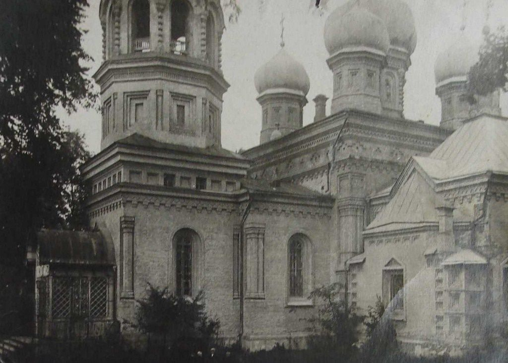 храм прп. Феодора Освященного до разрушения в советское время